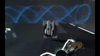 Portal 2 Walkthrough: Chapter 8: Experimental Chambers, Wheatley Test Chambers 01 & 02 (in 1080p HD)