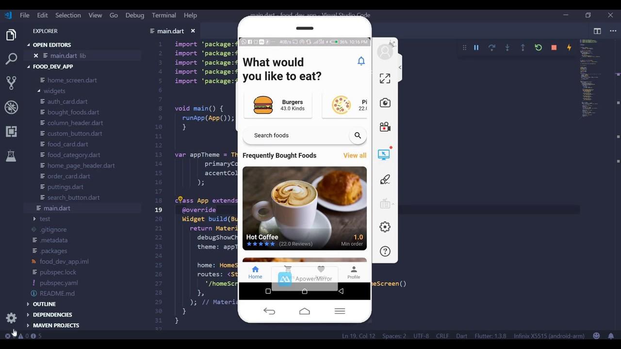 Let's Build An App In Flutter - Food Delivery App