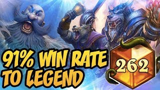 Hearthstone: 91% Win Rate With Wild Patron Warrior