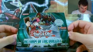 2nd Best Yugioh 2012 Return of the Duelist 1st Edition Booster Box Opening Ever