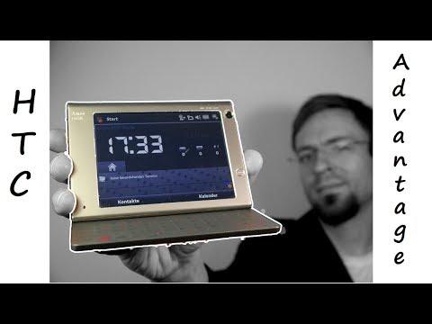 Retro Review #3 - T-Mobile AMEO alias HTC Advantage - Pocket PC - Deutsch