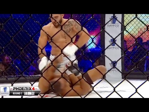 PHOENIX's Best Knockouts   Mohamad Karaki vs Alaa Mansour