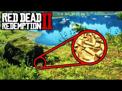 *SECRET* GOLD TREASURE YOU DON'T KNOW ABOUT in Red Dead Redemption 2! Easy Money RDR2!