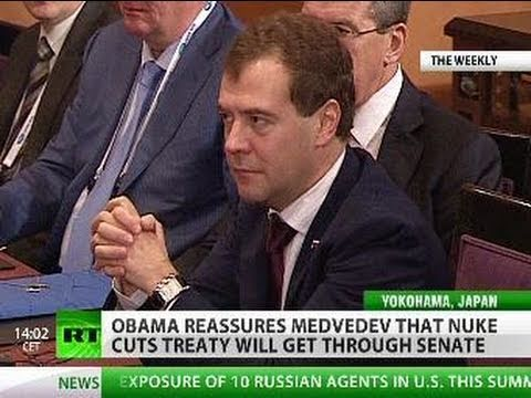 Obama to Medvedev: 'Yes, We Can... Ratify'