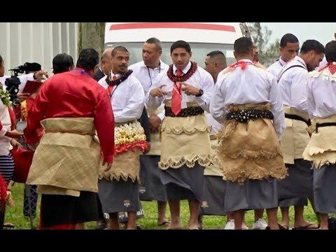 Mate Ma'a Tonga - entering Royal Palace