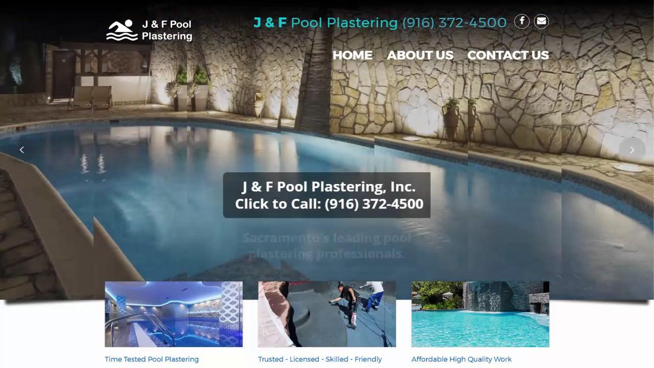 pool plastering sacramento ca youtube