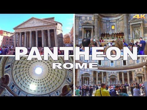PANTHEON - ROME , ITALY 2017 4K