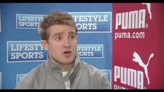 """Interview with Luke Fitzgerald at the Lifestyle Sports - Puma """"Meet the Players"""" Event!"""