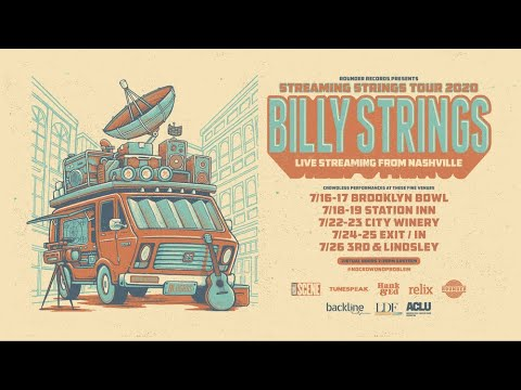 Billy Strings Streaming Strings 2020 Tour