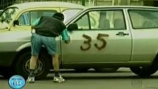Camera Escondida Silvio Santos - Pixando o carro