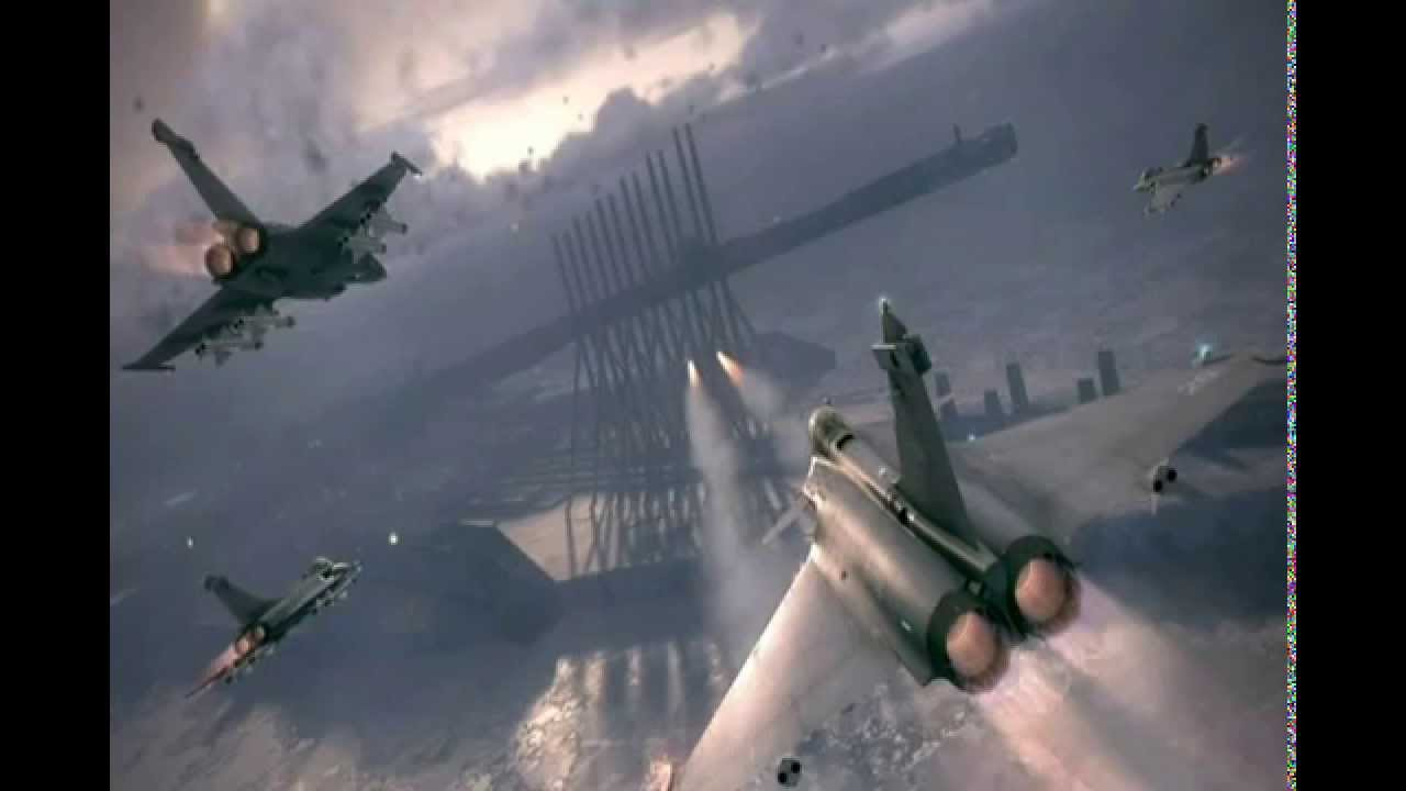 Ace Combat 6 Fires Of Liberation「CHANDELIER」 - YouTube