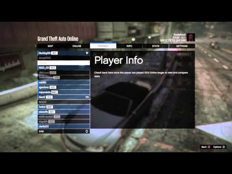 How to join friends on GTA Online Join Game (disabled)