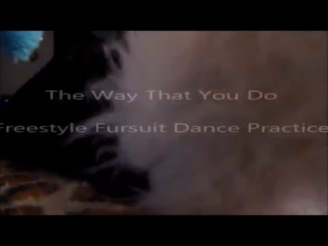 {FAILED} The Way That You Do - Freestyle Fursuit Dance Practice