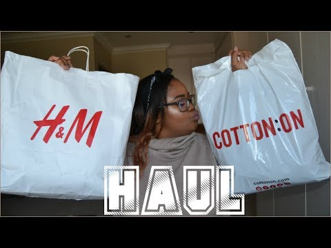 PLUS SIZE FASHION TRY ON HAUL | H&M, COTTON ON...♡ Nicole Khumalo ♡ South African Youtuber