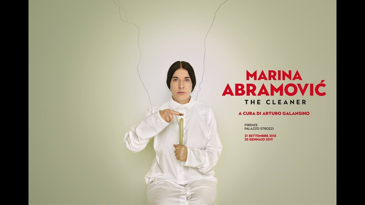 Artist Marina Abramovic attacked at exhibition in Florence