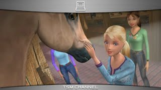 Barbie Horse Adventures : Wild Horse Rescue (part 1) (Horse Game)