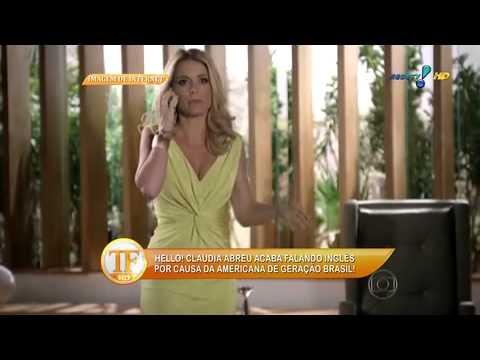 Cláudia Abreu 'incorpora' Personagem Na Vida Real