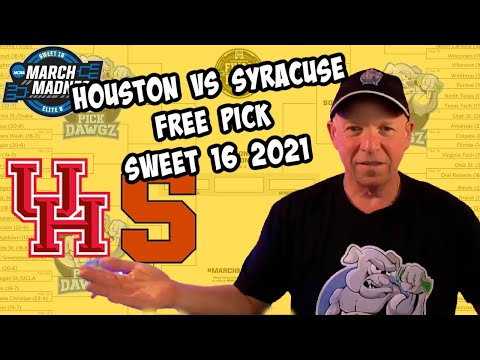 Houston vs Syracuse 3/27/21 Free College Basketball Pick and Prediction NCAA Tournament