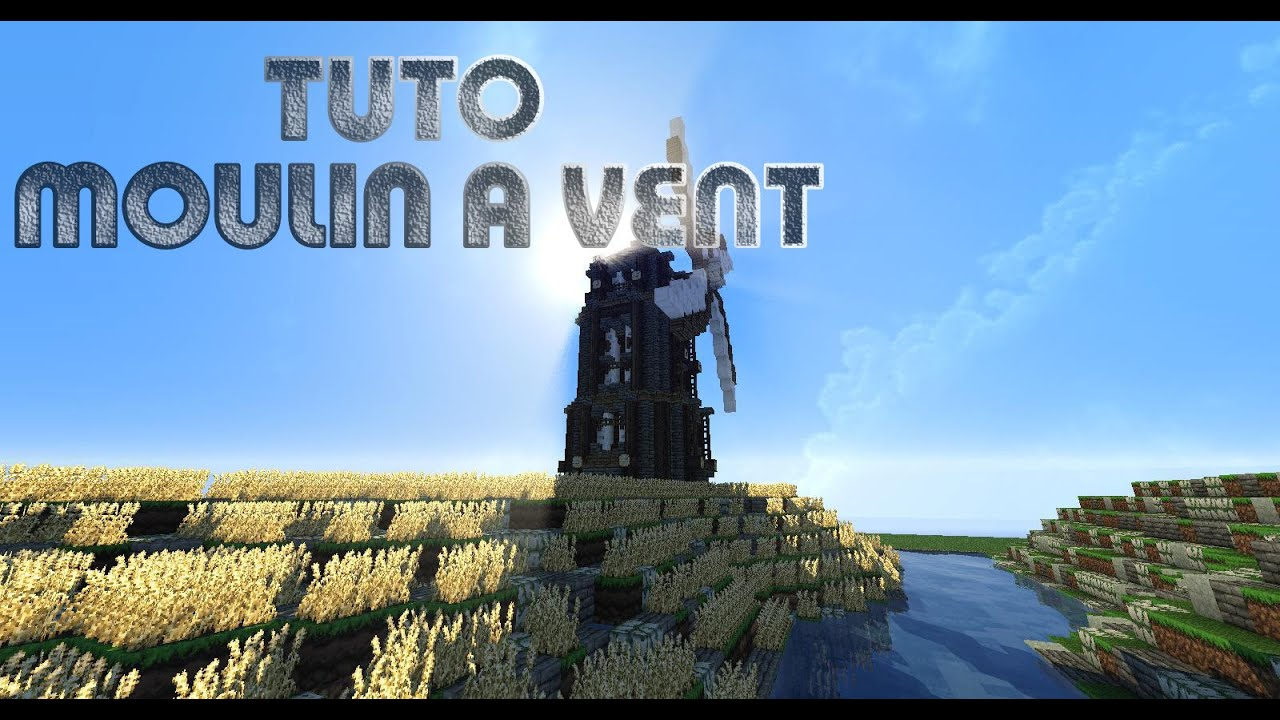 Tuto Minecraft Comment Faire Un Moulin Style Steampunk Speed