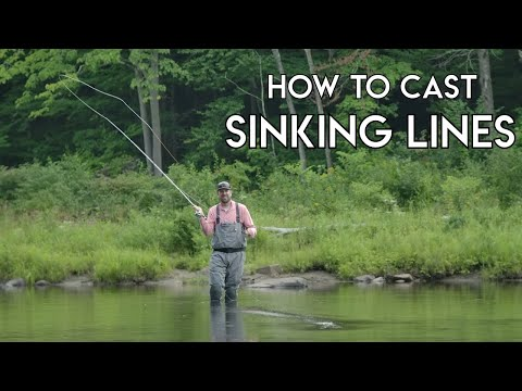How To Cast Sinking Fly Lines | Learn To Fly Fish