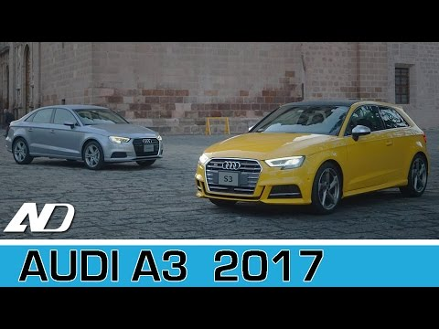 Audi A3 2017 - Primer vistazo