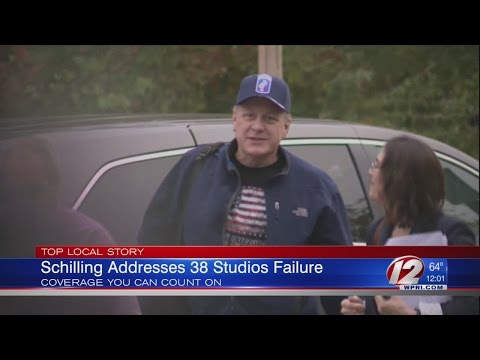 Curt Schilling Speaks Out on 38 Studios