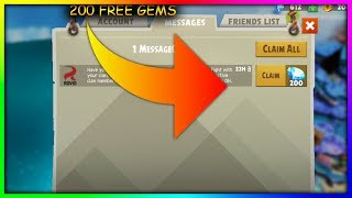 HOW TO GET 200 FREE GEMS IN ANGRY BIRDS EVOLUTION (EASY)