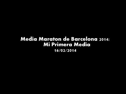 Media Maratón de Barcelona: Mi Primera Media