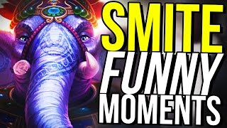 GANESHA NEW BEST SUPPORT AND CARRY! (Smite Funny Moments)
