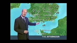 Repeat youtube video BBC Weather: 8th January 2003