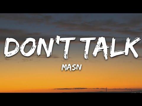 Masn - Don't Talk