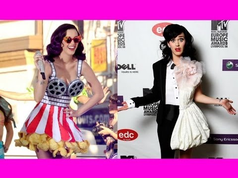 Katy Perry's Quirkiest Outfits!