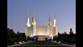 Drone Flyover Views of the Washington DC Temple of the Church of Jesus Christ of Latter-day Saints