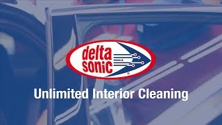 Delta Sonic Interior Cleaning