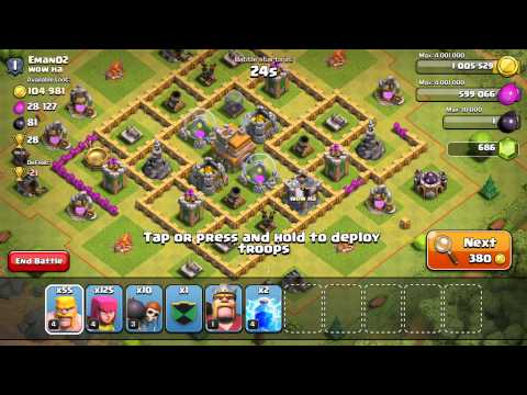 Finally Getting The Barbarian King!! | Clash of Clans Let's Play #7