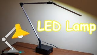 светодиодная настольная лампа (как сделать)