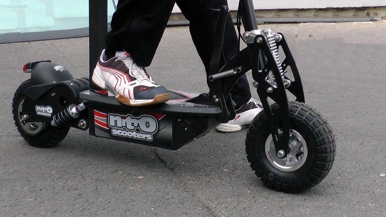 Nitro Xe 1000 Turbo Electric Scooter Short Test Run