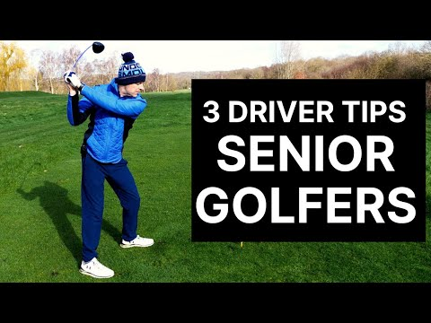 3 Steps To INSTANTLY Improve Your DRIVER SWING! – Great for SENIOR GOLFERS