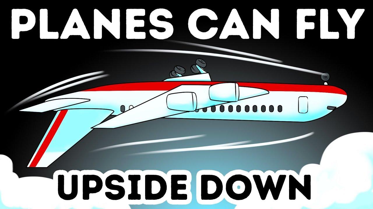 ¿Por qué algunos aviones pueden volar boca abajo? + vídeo