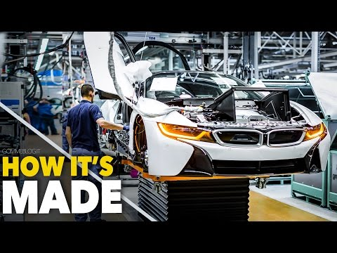CAR FACTORY ... New BMW i8  HOW IT'S MADE | HOW TO BUILD a S