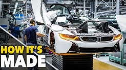 CAR FACTORY ... New BMW i8  HOW IT'S MADE | HOW TO BUILD a Supercar