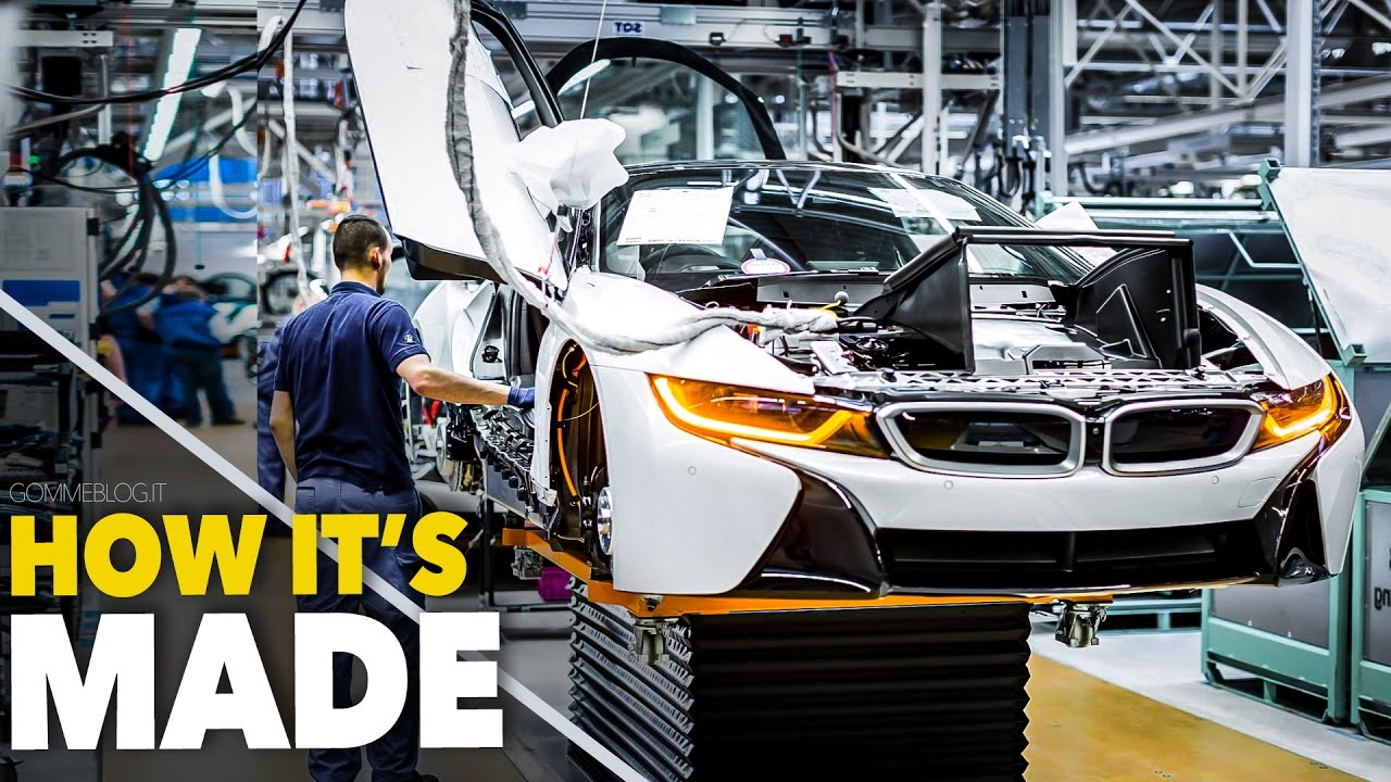 CAR FACTORY ... New BMW i8 HOW IT\'S MADE | HOW TO BUILD a Supercar ...
