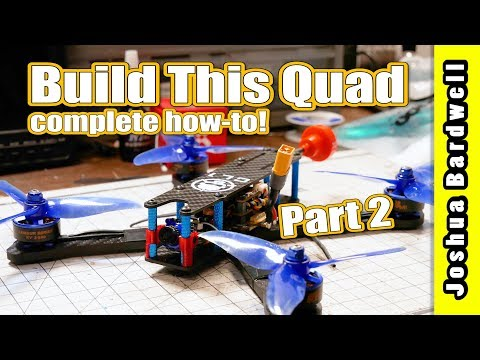 Learn To Build a Racing Drone - Part 2 - Frame Assembly - 동영상