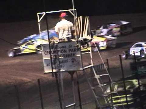 Champion Park Speedway 5/12 Feature Part 2
