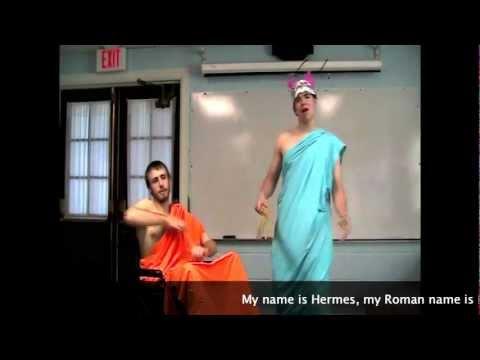 Hermes & Hephaestus - Mythology Rap
