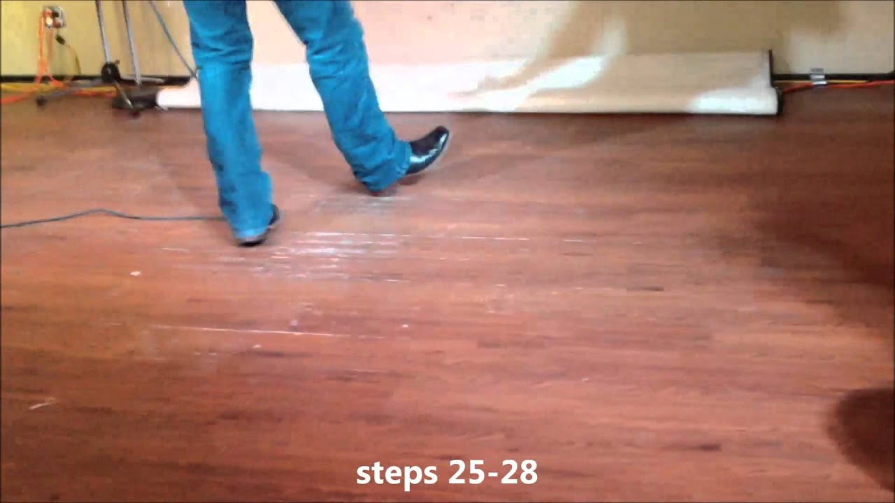 how to do the cuban shuffle line dance