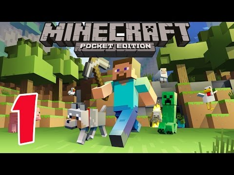 Minecraft PE - Survival Mode - Gameplay Part #1 - Let's Play
