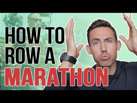 TOP 3 TIPS for Rowing a Marathon (CrossFit Games edition)