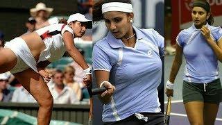 vuclip Sania Mirza Navel | Tennis Practice