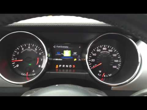 Ford Mustang 2.3 ecoboost - acceleration 0-100 (0-60)